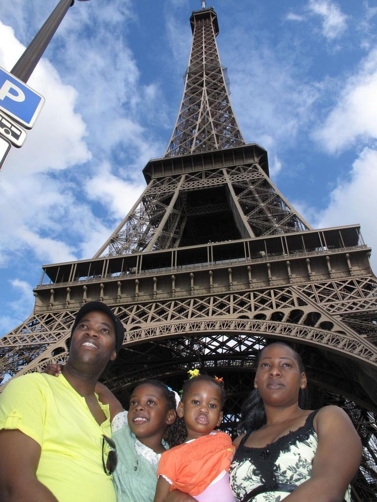 Eiffel Tower with the Kids - Paris