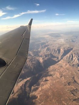 View from the plane , Roger S - August 2016