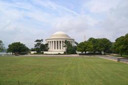 Jefferson Memorial from the Hop-On-Hop Off Tour. , Ken K - October 2012
