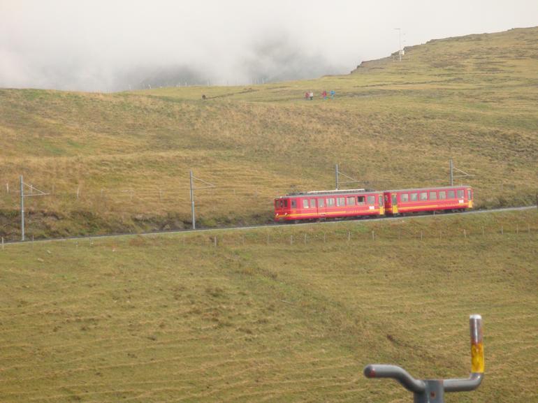Jungfrau train - Zurich