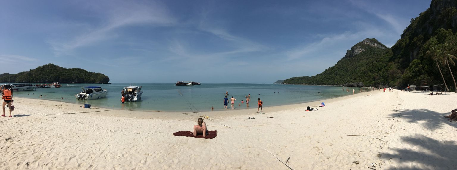 MÁS FOTOS, Recorrido por isla Samui al parque marino de Ang Thong con un barco grande más kayak