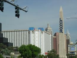 The big sign/tower outside the Luxor, John C - October 2010