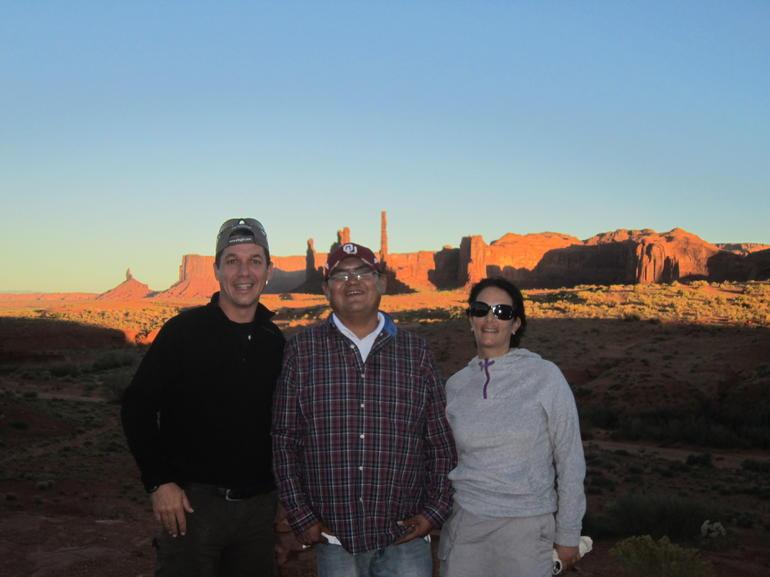 Morion, indio navajo - Las Vegas