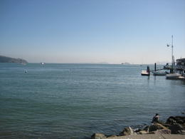 A view of the bay from Sausalito , Rockerguy - November 2011