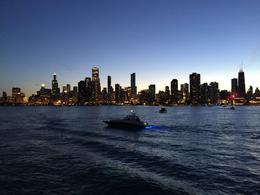 Chicago Skyline at sunset , Neta D - June 2017