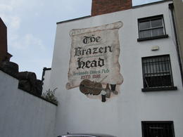 Brazen Head - 12th century pub in Dublin , Pete - September 2017