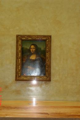 It was so exciting to see the real Mona Lisa picture. , AnonymousJack - May 2011