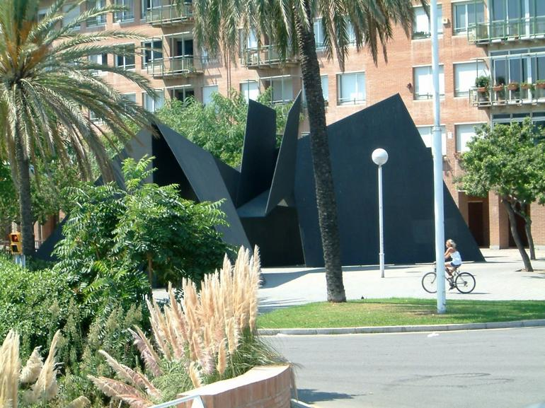A metal tent? - Barcelona