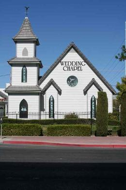 A Special Memory Wedding Chapel, Las Vegas. The place we had our drive thru wedding., Chris C - September 2010