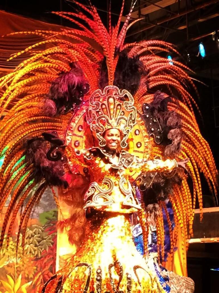 AfroBrazilian samba suit - Rio de Janeiro