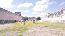 Old ball Mayan game field. , ronnyrca - October 2016