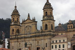 Main Cathedral in Bogota located in the Bolivar Square., Bandit - September 2012