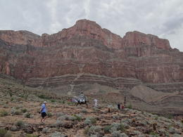 Exploring the Canyon, after descending into the canyon by helicopter. , Cheryl J - September 2012