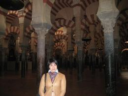 Rachel inside the Cathedral (La Mesquita)., Dmitriy M - February 2008