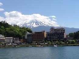 Mt Fuji and Lake Ashi - May 2014