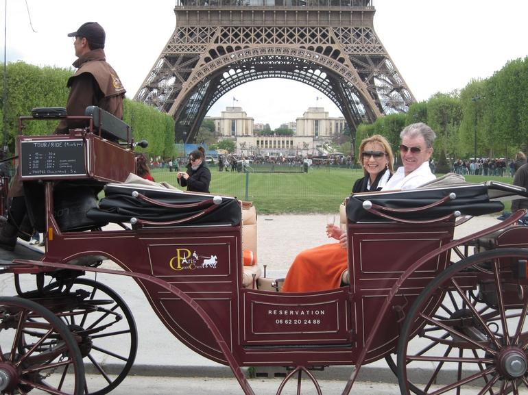 Our carriage ride through the streets of Paris - Paris