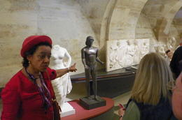Our guide, very good, told us as much as she could in the allotted time. , CHARLES P - July 2014