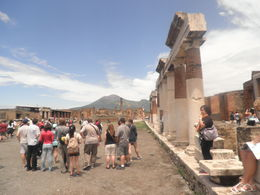 Main square of Pompeii , Robert R - June 2015