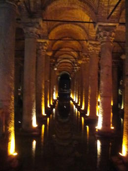 Basilica Cistern, Blanca - January 2013