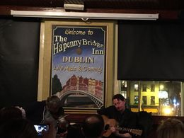 Ha'penny Bridge Inn to start our tour , Nicola B - March 2015