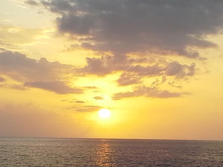 Sunset at Rick's Cafe - Negril