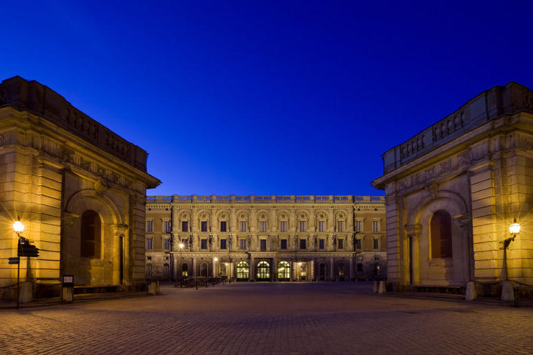 The Royal Palace in Stockholm, Sweden - Stockholm