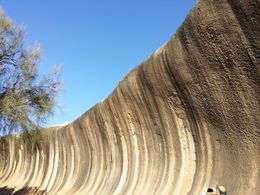 Wave Rock , Irene - July 2015