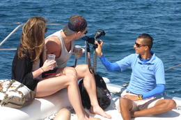 Pro photog aboard Sharing photos on Banderas Bay sail , Carol R - March 2017
