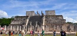 Chichen Itza, Temple of Warriors , Emily S - March 2017