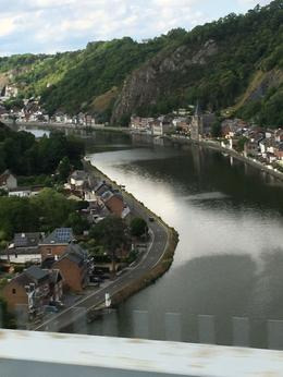 View of Dinant from the bus , marinda.van.wyk50 - July 2017