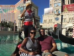Gondola Ride at the Venetian , Jess - November 2017