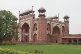 The Great Gate (Darwaza-i-rauza) - gateway to the Taj Mahal - September 2012