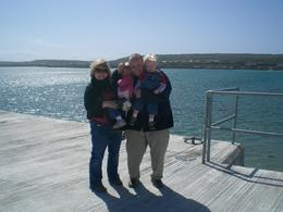 On the dock at Inis Moore, Aran Islands, Amy K - May 2008