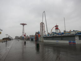 Boardwalk on a rainy day, Patricia P - July 2015