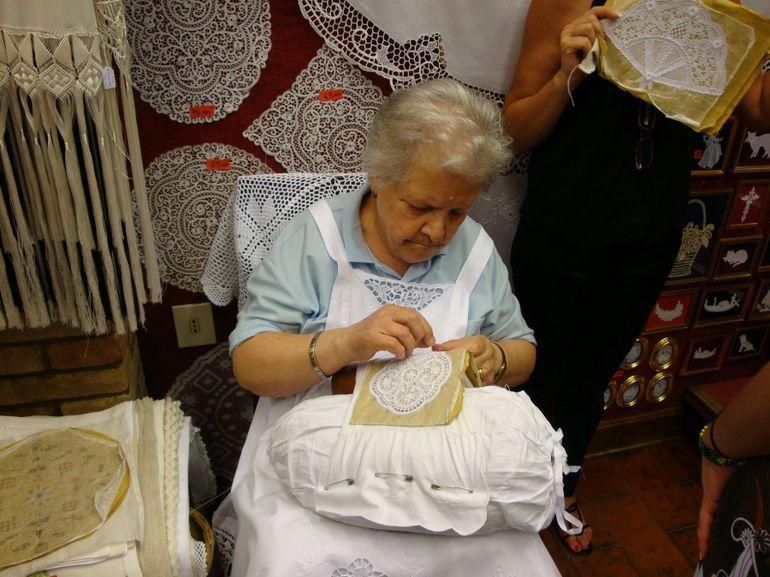 Burano Lace Maker - Venice