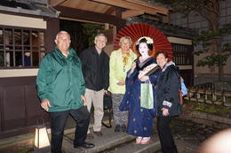 We say goodnight to our lovely maiko. , Nita - April 2014