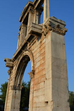 Hadrian's Arch , sharon - August 2013