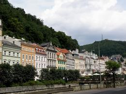 The street along Tepla river, Aleksandra B - July 2009
