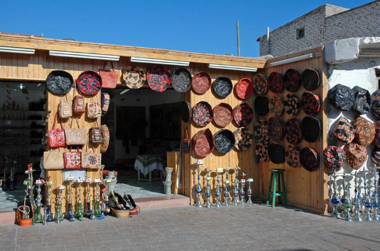 Market in Dahab, Egypt - Sharm el Sheikh