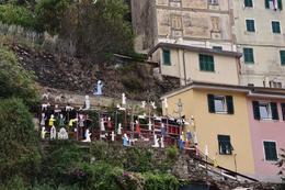 Nativity Cinque Terre style , Angel F - October 2016