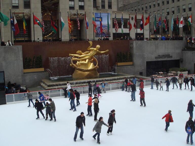 skating - New York City