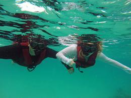 Snorkeling in Akumal , Melanie T - August 2016