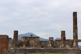 Mt.Vesuvius as seen from the ruins of Pompeii , zenmaster666 - May 2013