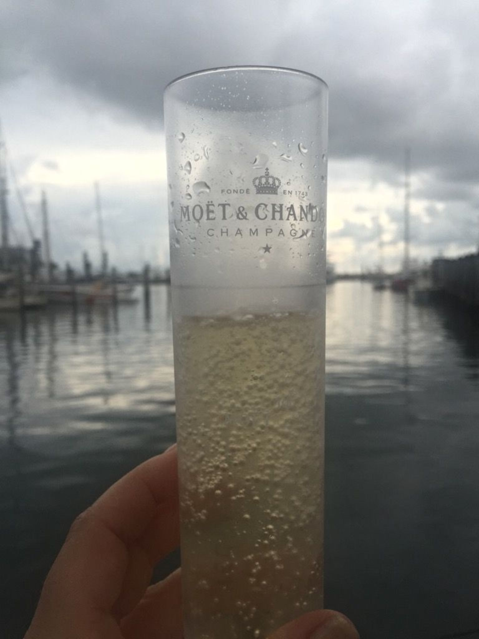 MÁS FOTOS, Crucero al atardecer con celebración con champán