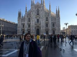 In front of the Duomo , Alan B - January 2017