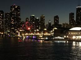 Navy Pier at night , Neta D - June 2017