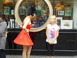 My granddaughter at Universal Studios with Betty Boop , vickindicky - August 2017