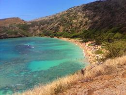 Looking down on Hanauma Bay from the upper level. , adrienne p - November 2017
