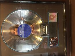 A Platinum Record inside Bill Wyman's restaurant 'Sticky Fingers' , Thomas H - December 2017