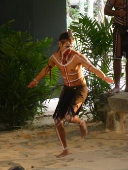 Die Vorführung im Aborigines Cultural park war hochinteressant, insbesondere die spezielle Schöpfungsgeschichte , Reinhard B - August 2013